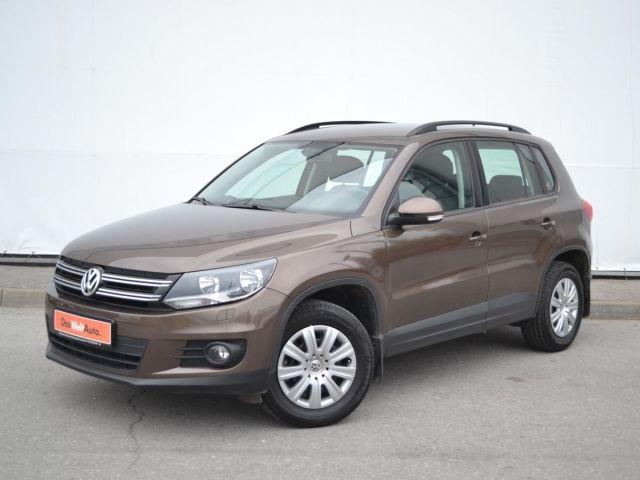 Купить б/у Volkswagen Tiguan, 2014 год, 150 л.с. в Липецке