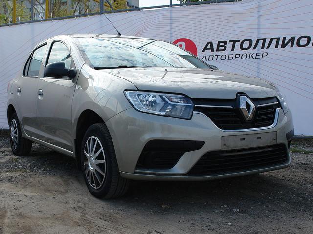 Купить б/у Renault Logan, 2019 год, 82 л.с. в России